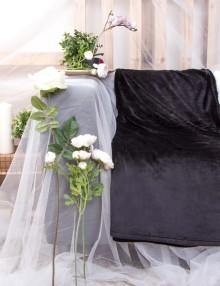 1359 Deka mikrovlákno - černá 150x200 cm 2
